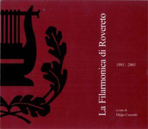 La Filarmonica di Rovereto_1991-2001 copertina